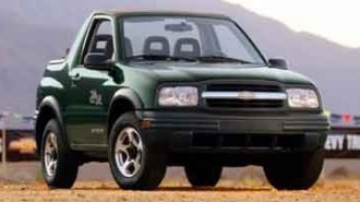 2003 Chevrolet Tracker ZR2