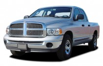"2003 Dodge Ram 1500 4-door Quad Cab 140.5"" WB SLT Angular Front Exterior View"