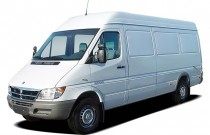 "2005 Dodge Sprinter 2500 SHC 158"" WB Angular Front Exterior View"