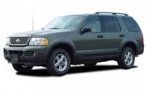 """2003 Ford Explorer 4-door 114"""" WB 4.0L XLT Angular Front Exterior View"""