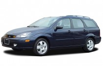 2003 Ford Focus 4-door Wagon ZTW Angular Front Exterior View