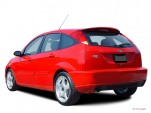 2003 Ford Focus 5dr Sedan HB SVT Angular Rear Exterior View