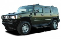 2003 HUMMER H2 4-door Wagon Angular Front Exterior View