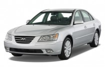 2009 Hyundai Sonata 4-door Sedan I4 Auto Limited Angular Front Exterior View