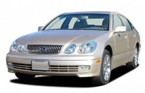 2003 Lexus GS 430 4-door Sedan Angular Front Exterior View