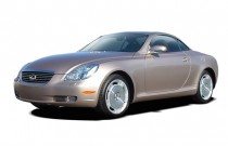 2003 Lexus SC 430 2-door Convertible Angular Front Exterior View