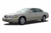 2003 Lincoln Town Car 4-door Sedan Cartier L Angular Front Exterior View