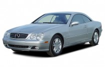 2003 Mercedes-Benz CL Class 2-door Coupe 5.0L Angular Front Exterior View