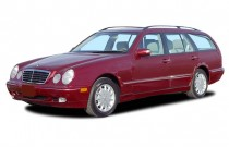 2003 Mercedes-Benz E Class 4-door Wagon 3.2L Angular Front Exterior View