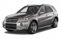 2010 Mercedes-Benz M Class AWD 4-door 6.3L AMG Angular Front Exterior View