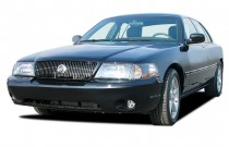 2003 Mercury Marauder 4-door Sedan Angular Front Exterior View