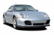 2003 Porsche 911 Carrera 2-door Carrera Turbo Tiptronic Angular Front Exterior View