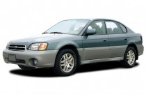 2003 Subaru Legacy Sedan 4-door Outback Ltd Auto Angular Front Exterior View