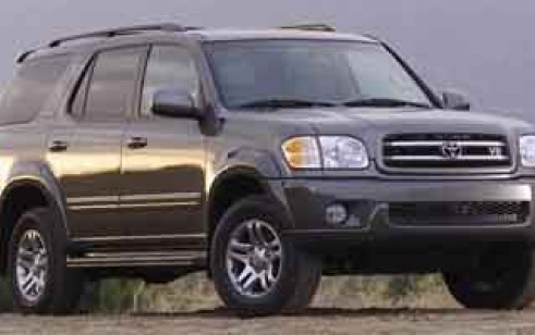 Toyota Sequoia Vs 4Runner >> 2003 Toyota Sequoia Vs Gmc Yukon Ford Expedition Honda Pilot