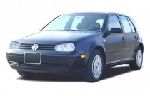 2003 Volkswagen Golf 4-door HB GL Manual Angular Front Exterior View