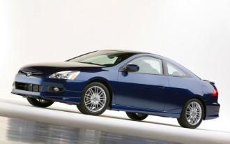 2003 Honda Accord Coupe recalled to replace Takata airbag inflators