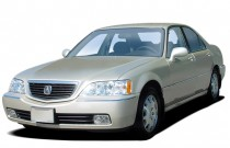 2004 Acura RL 4-door Sedan w/Navigation System Angular Front Exterior View