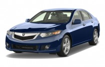 2009 Acura TSX 4-door Sedan Man Tech Pkg Angular Front Exterior View