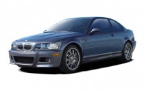 2006 BMW 3-Series M3 2-door Coupe Angular Front Exterior View