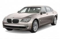 2010 BMW 7-Series 4-door Sedan 750Li RWD Angular Front Exterior View