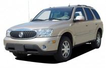 2004 Buick Rainier 4-door CXL Plus AWD Angular Front Exterior View
