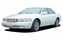 2003 Cadillac Seville 4-door Touring Sedan STS Angular Front Exterior View