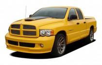 "2005 Dodge Ram SRT-10 4-door Quad Cab 140.5"" WB Angular Front Exterior View"