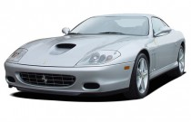 2004 Ferrari 575M Maranello 2-door Coupe Angular Front Exterior View