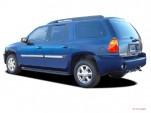 2004 GMC Envoy XL 4-door 2WD SLT Angular Rear Exterior View