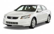 2010 Honda Accord Sedan 4-door I4 Auto EX Angular Front Exterior View
