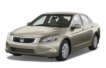 2008 Honda Accord Sedan 4-door I4 Auto LX Angular Front Exterior View