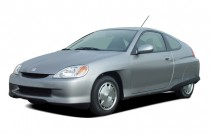2004 Honda Insight 3dr HB CVT w/Air Cond Angular Front Exterior View