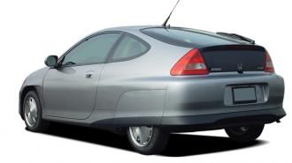 2004 Honda Insight 3dr HB CVT w/Air Cond Angular Rear Exterior View