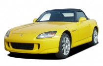 2004 Honda S2000 2-door Convertible Angular Front Exterior View