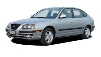 2004 Hyundai Elantra 5dr Sedan GT Manual Angular Front Exterior View