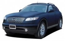 2004 Infiniti FX35 4-door AWD Angular Front Exterior View