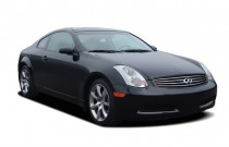 2005 Infiniti G35 Coupe 2-door Coupe Auto Angular Front Exterior View
