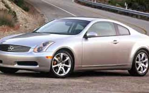 2004 infiniti g35 coupe vs hyundai accent pontiac gto toyota echo rh thecarconnection com