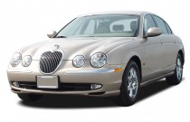 2004 Jaguar S-TYPE 4-door Sedan V8 Angular Front Exterior View