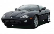 2004 Jaguar XK8 2-door Convertible XKR Angular Front Exterior View