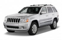 2010 Jeep Grand Cherokee RWD 4-door Limited Angular Front Exterior View