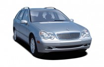 2004 Mercedes-Benz C Class 4-door Wagon 2.6L Angular Front Exterior View