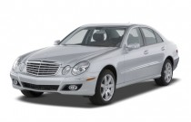 2008 Mercedes-Benz E Class 4-door Sedan Luxury 3.5L RWD Angular Front Exterior View