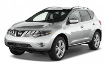 2009 Nissan Murano AWD 4-door LE Angular Front Exterior View