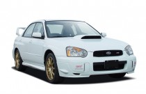 2004 Subaru Impreza Sedan (Natl) 2.0 WRX Manual Angular Front Exterior View