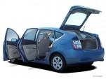 2004 Toyota Prius 5dr HB (Natl) Open Doors