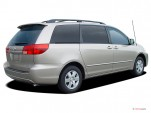 2004 Toyota Sienna 5dr CE FWD 8-Passenger (Natl) Angular Rear Exterior View