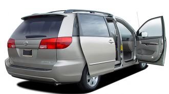 2004 Toyota Sienna 5dr CE FWD 8-Passenger (Natl) Open Doors