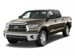 2010 Toyota Tundra CrewMax 5.7L V8 6-Spd AT Grade (Natl) Angular Front Exterior View