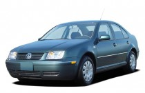 2004 Volkswagen Jetta Sedan 4-door Sedan GL Manual Angular Front Exterior View
